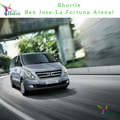 Shuttle Service from San José to La Fortuna Arenal