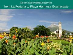 Shuttle from La Fortuna to Playa Hermosa Guanacaste