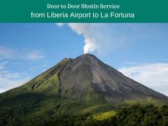 Shuttle from Liberia Aiport to La Fortuna de Arenal