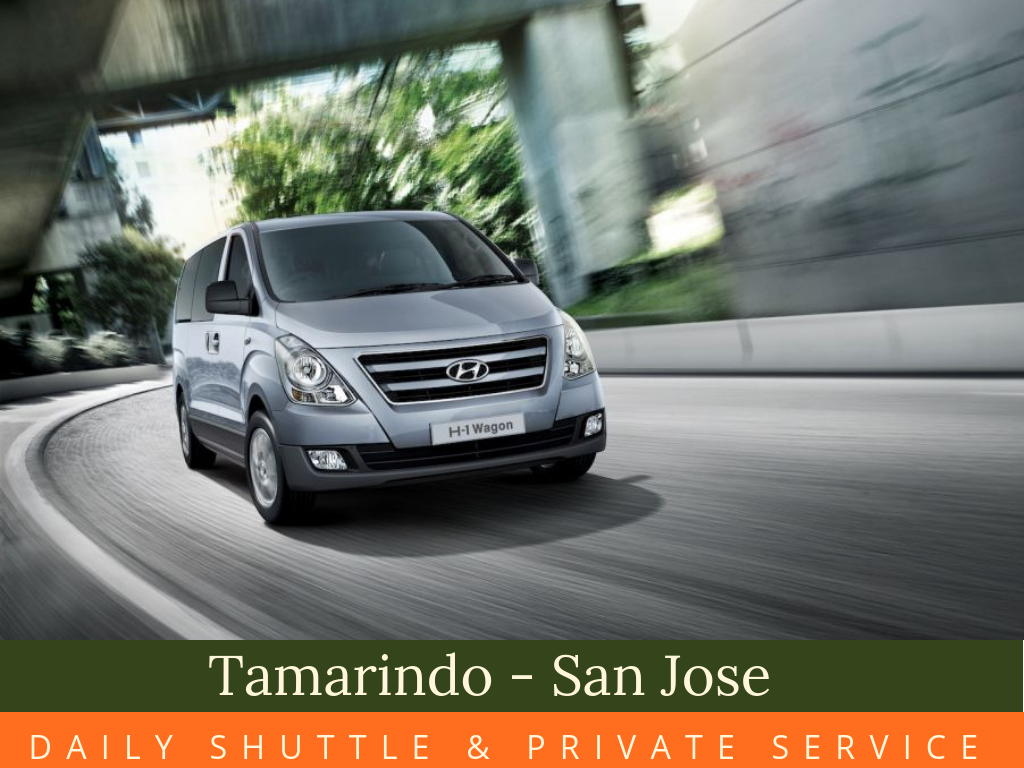 Tamarindo - San José  Shuttle Service