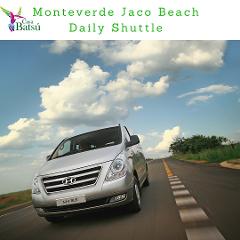 Monteverde- Jaco Private Transfer