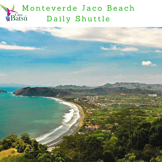 From Jaco to MOnteverde  Private Transfer