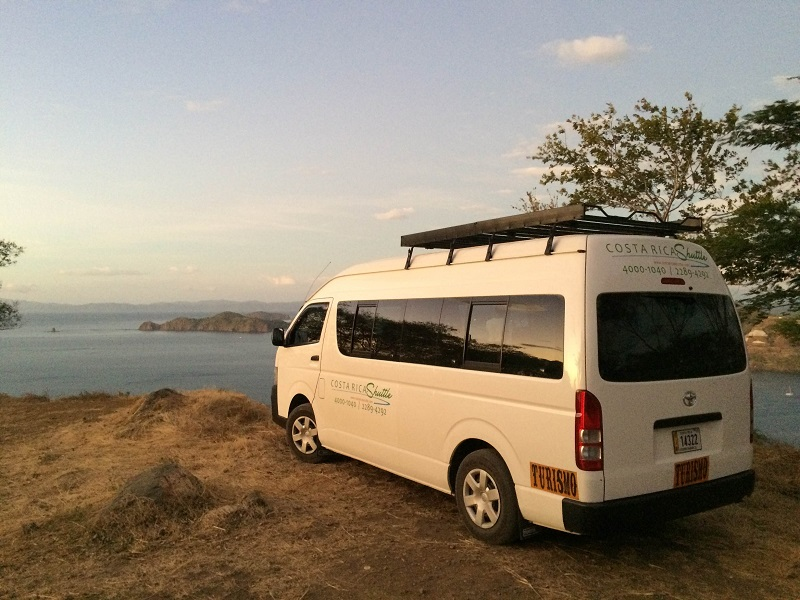 Shuttle from  Playa Grande to Monteverde
