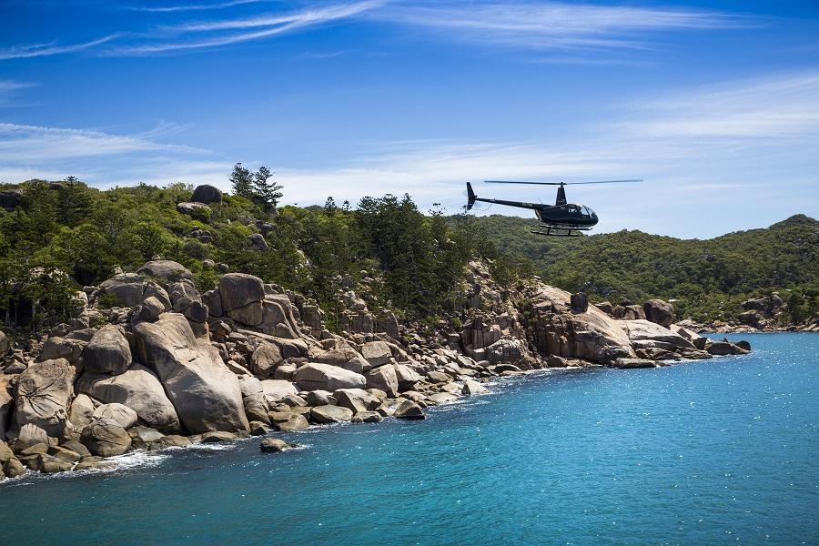 Magnetic Island Scenic flight / Transfer