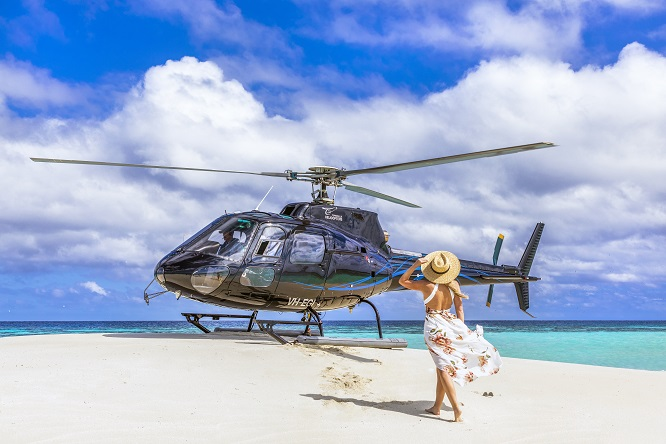 Great Barrier Reef Scenic Experience