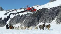 Helicopter Dogsled - Norris Glacier