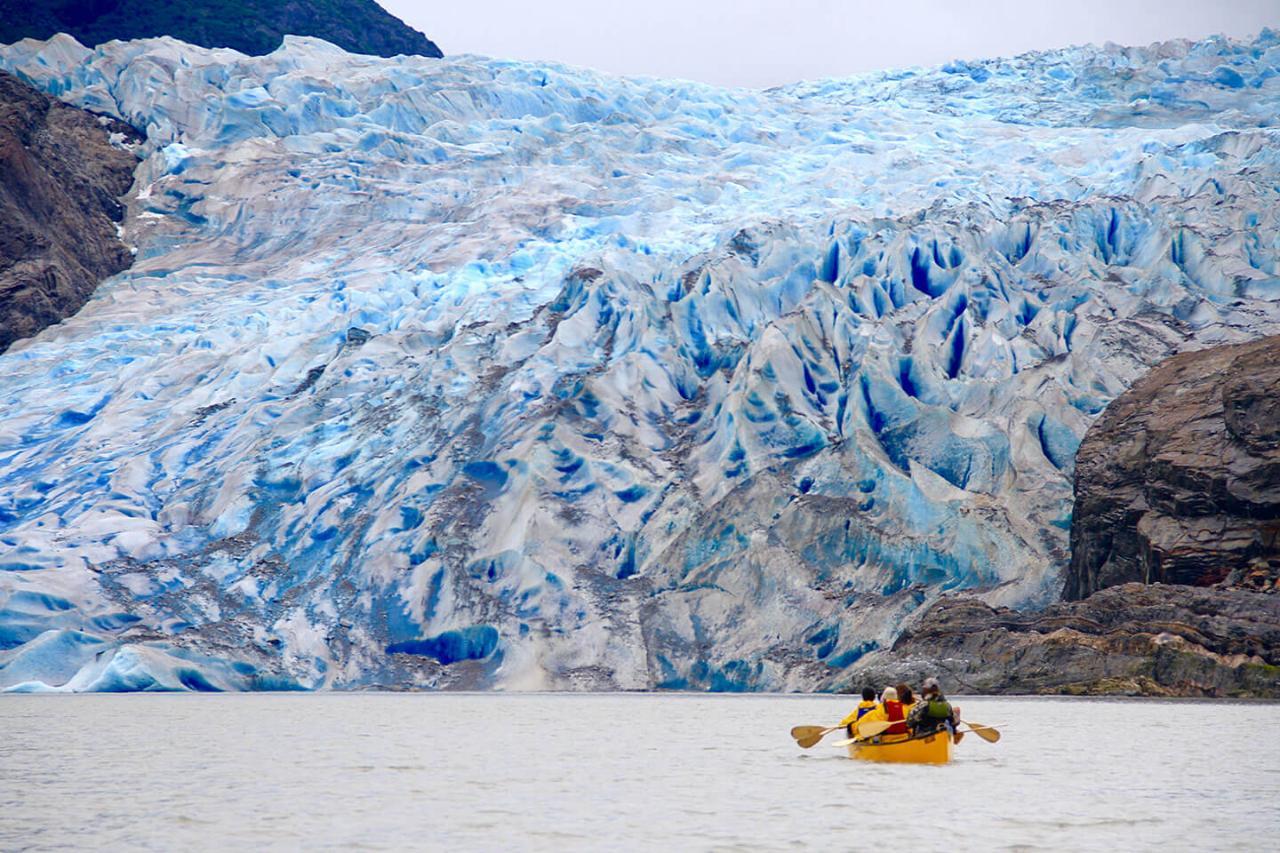 Mendenhall Canoe/Glacier Trek