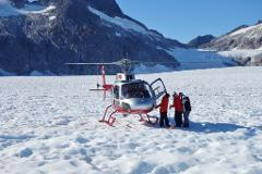 Helicopter Glacier - Mendenhall