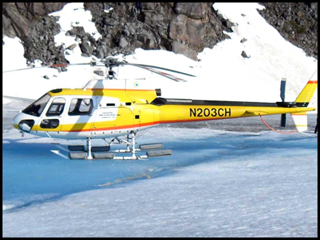 Helicopter Glacier  - Herbert