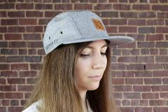 Five Panel Wool Hat