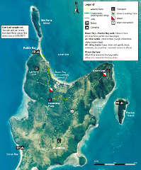 Hamilton Island to Sandy Bay, South Molle Island