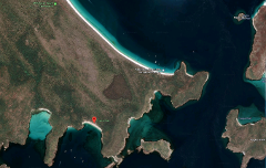 Whitehaven Beach, Whitsunday Island to Chance Bay, Whitsunday Island