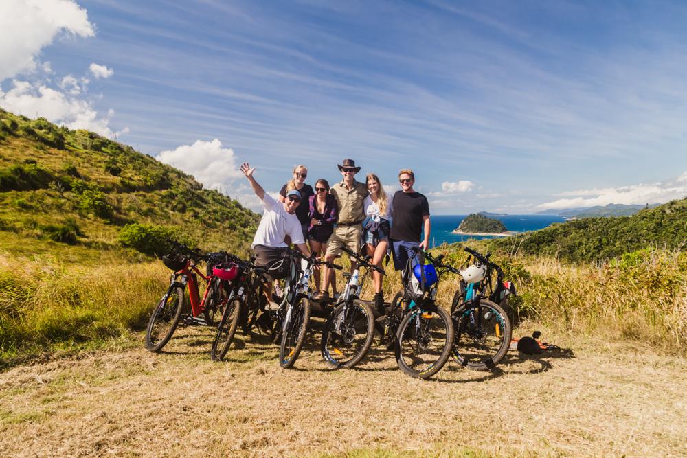 Half Day Guided e-Mountain Bike Whitsunday Island Experience