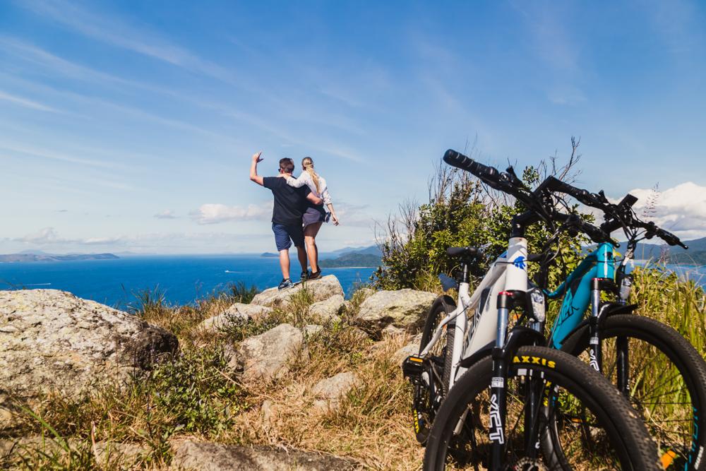 Half Day Self-Guided e-Mountain Bike Whitsunday Island Experience