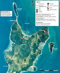 Whitehaven Beach, Whitsunday Island to Sandy Bay, South Molle Island
