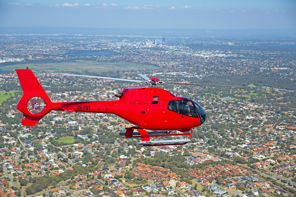 HILLARYS PERTH CITY TOUR SHARED FLIGHT 20 minutes $249pp