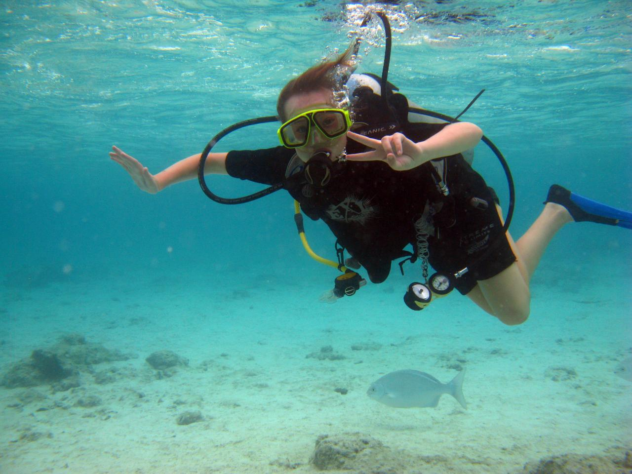 Kids Junior Scuba Diver ages 12 - 16