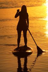 St Simons Paddleboard Sunset Tour