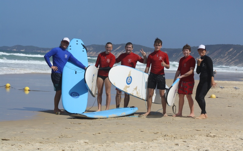 Surf School Small Group Lesson