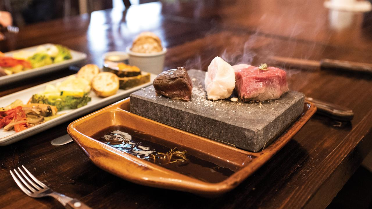 Stonegrill® Dining Experience