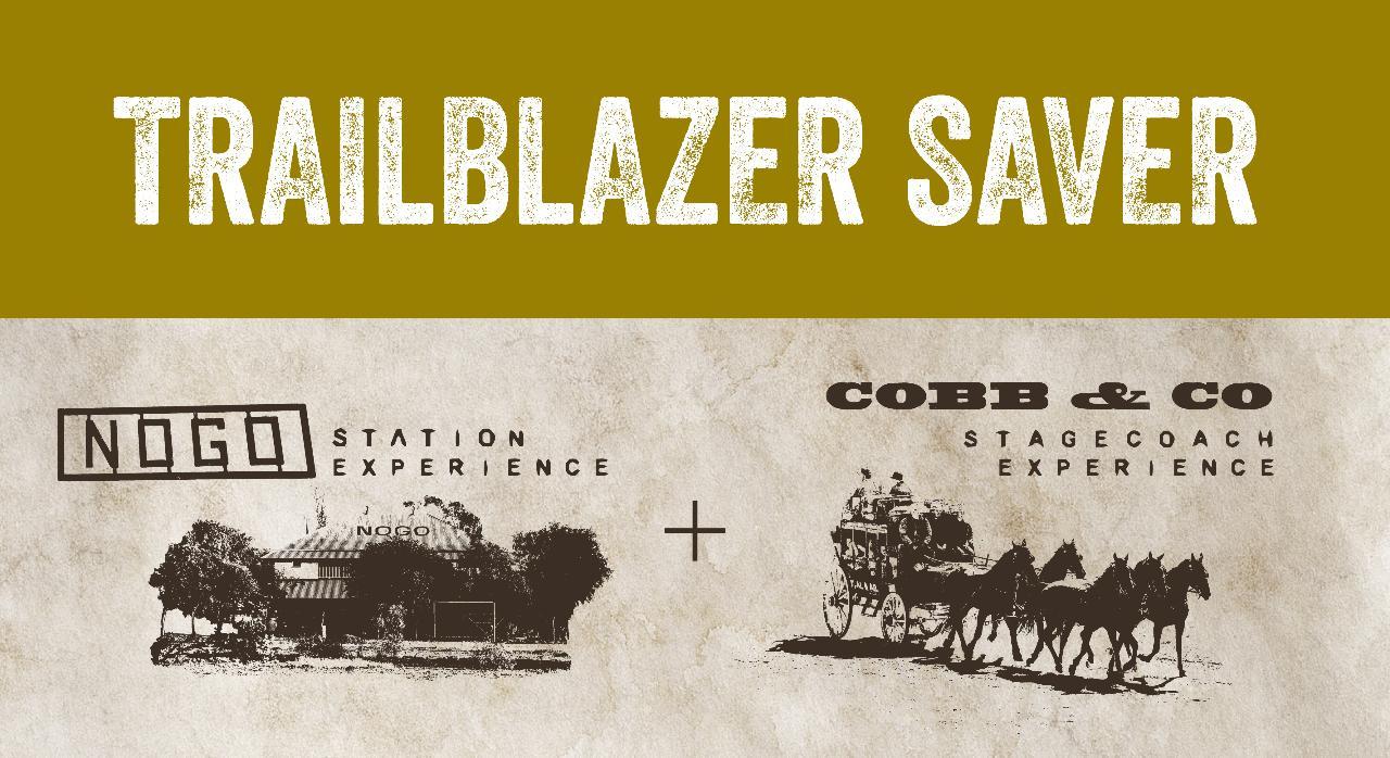 Trailblazer Saver - 2 tours. Save 10%