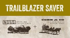 Trailblazer Saver - 2 tours. Save 10%