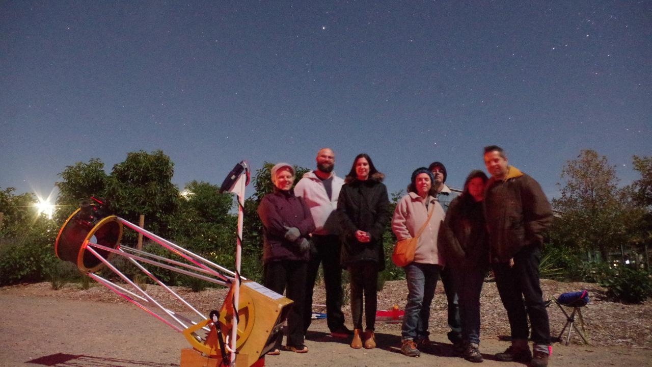 Stargazing tour at McLaren Vale (Fleurieu Peninsula)