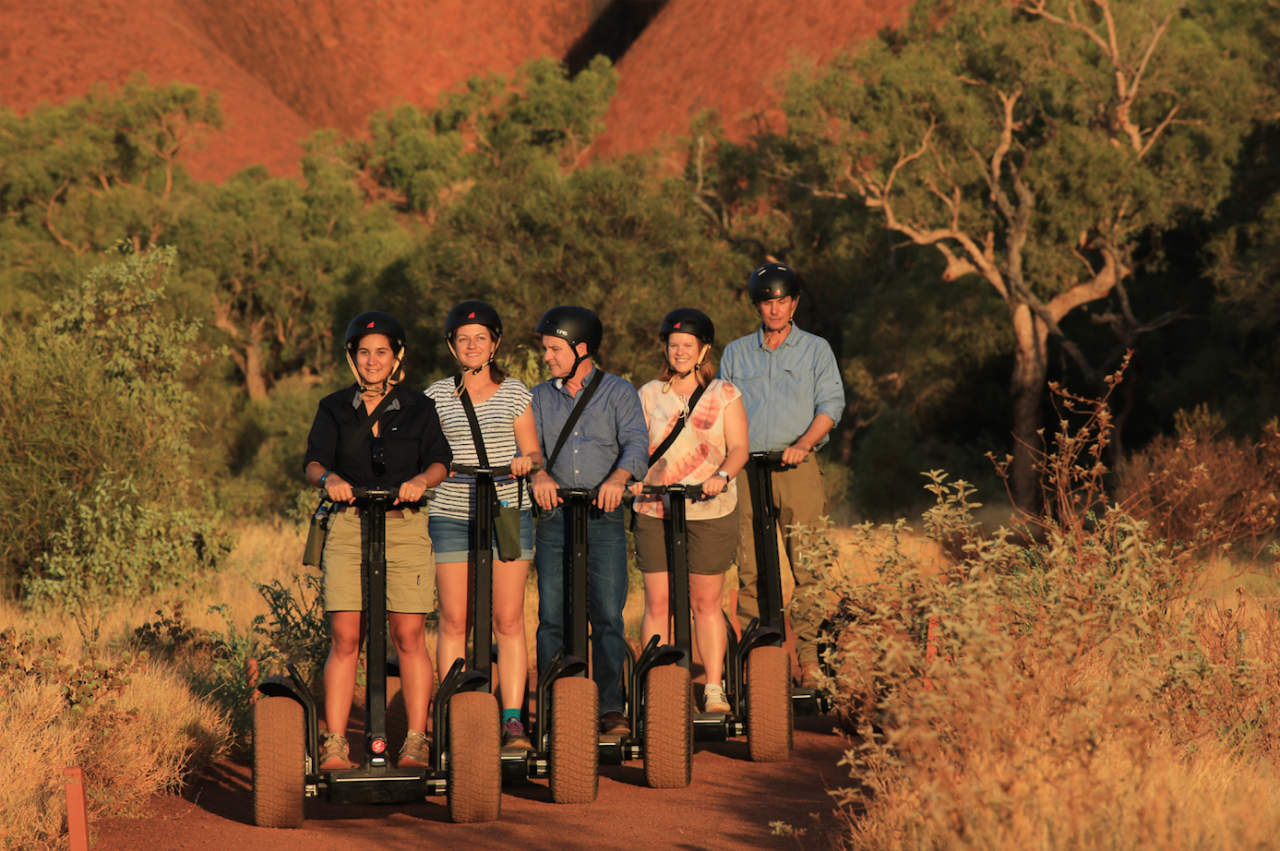 Uluru By Segway Self Drive Your Car To Uluru - Gift Certificate
