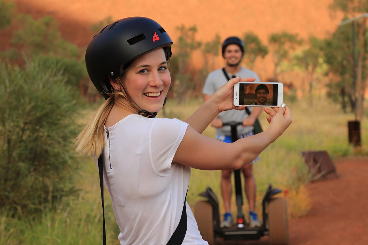 Uluru By Segway - Includes A Return Transfer to Resort  - Gift Cetrificate