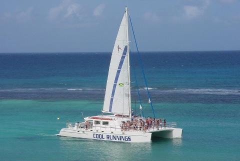 "Dunn's River ""Cool Runnings"" Snorkeling Catamaran Cruise (From Negril)"