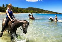 Jamwest ATV and HorseBack Riding Combo Tour (From Negril)