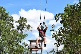 Jamwest Zipline and Safari Combo Tour (From Negril)