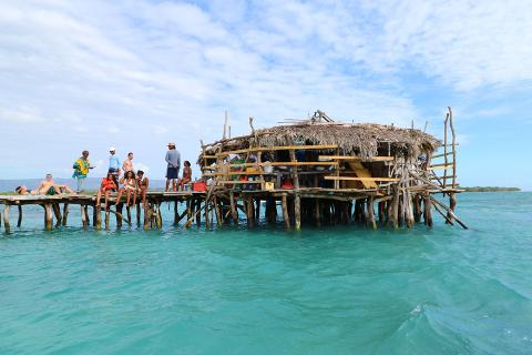Pelican Bar and Ricks Cafe (From Negril)