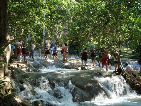 Legends and Falls – Bob Marley trail with Dunn's River Falls & Lunch (From Grand Palladium, Lucea)