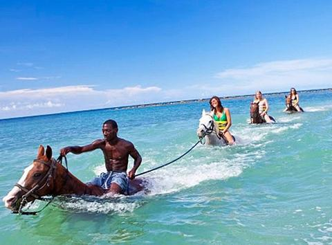 Rhodes Hall Horse Back Riding (From Negril)