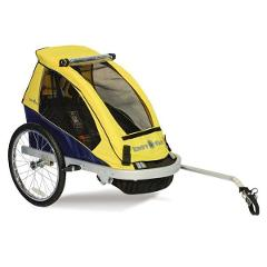 Woodside Bike Day Hire - Kiddy Carry trailer