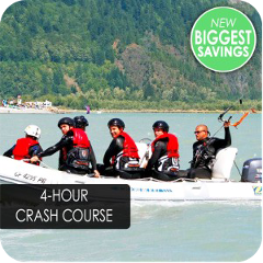 4 Hour Kiteboarding Crash Course - $250 per person