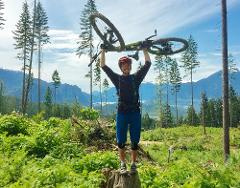 Half Day - Squamish Mountain Bike Private Guided Tour - By Ride BC