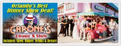 Capone's Lunch & Matinee Show-'' JOIN THE FUN--  4th ANNIVERSARY CELEBRATION