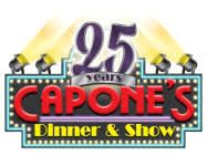 New Years at Capones Dinner Show