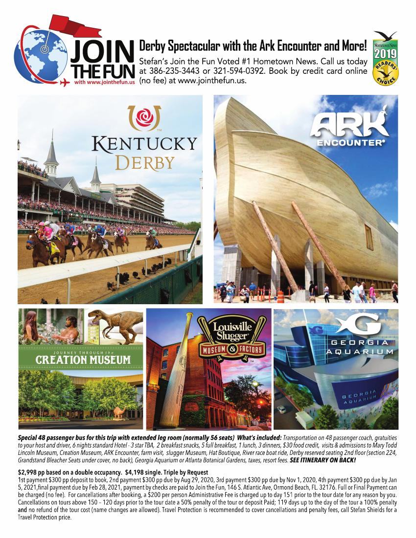 Kentucky Derby & ARK ENCOUNTER 2021