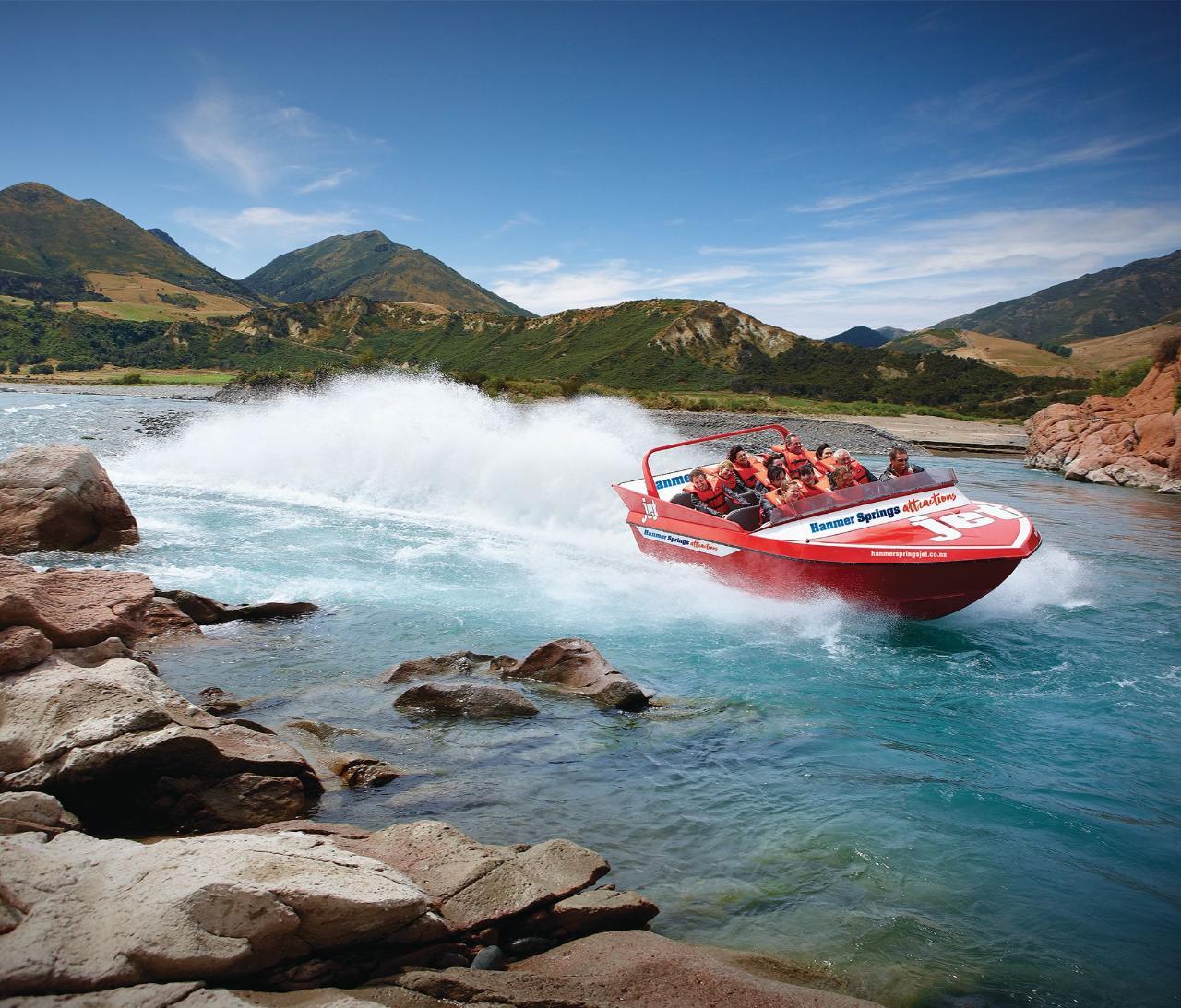 Hanmer Springs Jet Boat