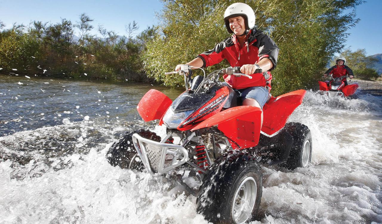 Hanmer Springs Quad Bikes - Single Seater