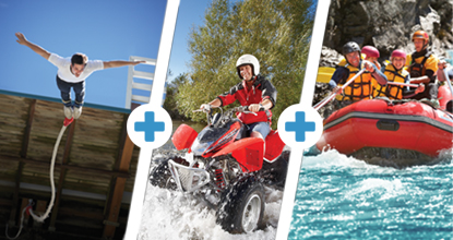 Triple Thriller - Raft/Quad/Bungy
