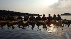 2 dagars kajakpaddling de luxe/ 2 day kayaking de luxe