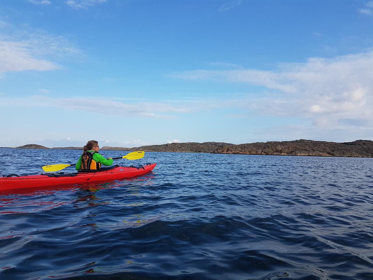 Singelkajak plast HELG. Single kayak plastic WEEKEND