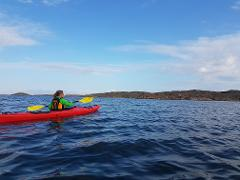 Singelkajak plast HELG. Single kayak plastic WEEKEND