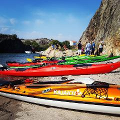 Dubbelkajak plast 2-3 DYGN  Double kayak plastic 2-3 DAYS