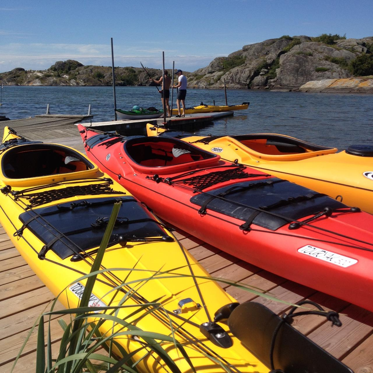 Dubbelkajak plast 1 VECKA (4-7 DYGN) Double kayak plastic 1 WEEK (4-7 DAYS)
