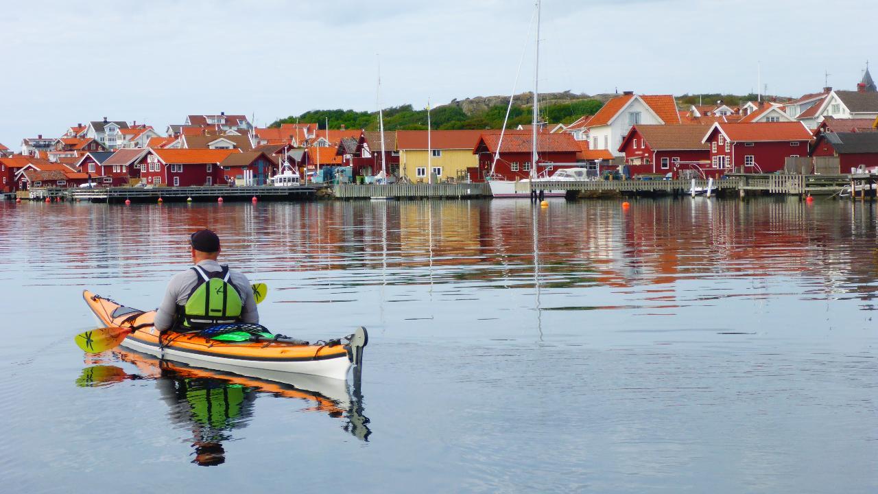 Självguidad kajaktur 3 dagar/Selfguided kayaktour 3 days